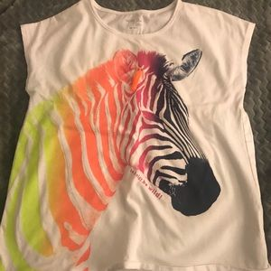 Gap Kids Zebra Shirt